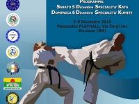 Campionato Assoluto Individuale Kumitè e Katà UNIKA 06-12-2015