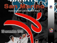 VIII° Open International Karate San Marino 22-11-2015